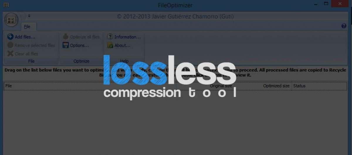 Review Lossless Compression Tool dengan File Optimizer