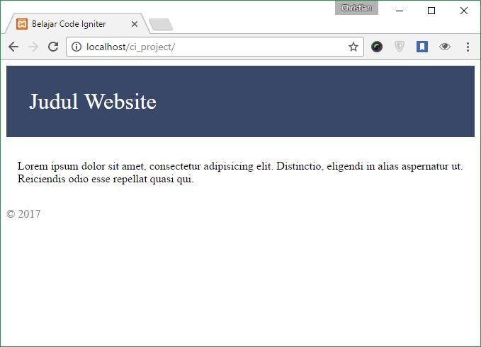 Contoh Web MVC