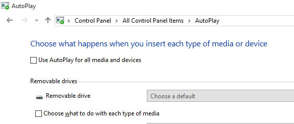 Mematikan Autoplay di Windows 7 keatas